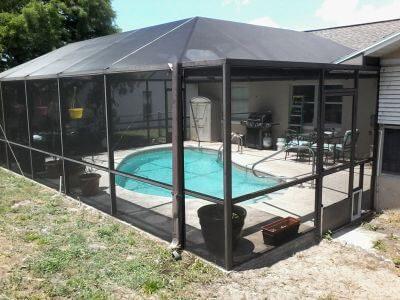 Pool Cage Screen Repair Crystal River A1