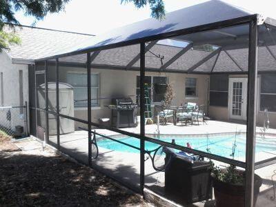 Pool Cage Screen Repair Crystal River A2