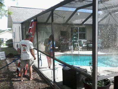 Pool Cage Screen Repair Crystal River B2