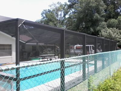 Rescreen Pool Cage Area The Villages A2