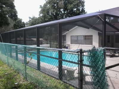 Rescreen Pool Cage Area The Villages A3