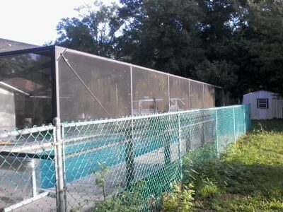 Rescreen Pool Cage Area The Villages B2